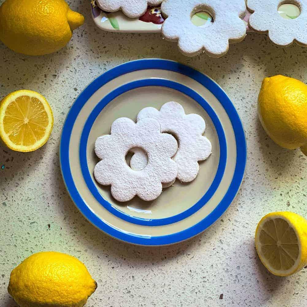 Ligurian Canestrelli – Italian Lemon Shortbreads