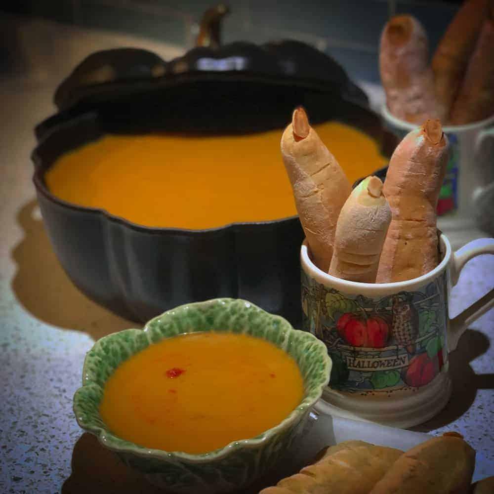 Harissa Pumpkin Soup