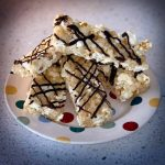 White Chocolate Popcorn Bars