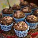 Birthday Chocolate Fairy Cakes