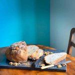 Autumnal Stilton and Walnut Bread
