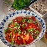 Tomato Salad with Balsamic Vinegar