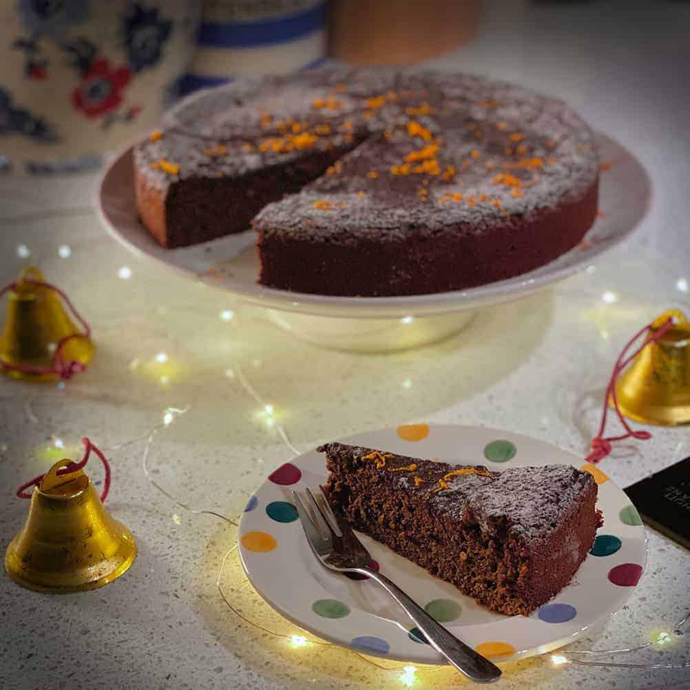 Gluten Free Chocolate Clementine Cake